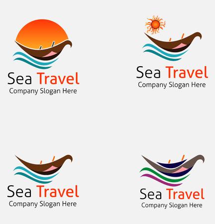 Sea Boat Travel Logo