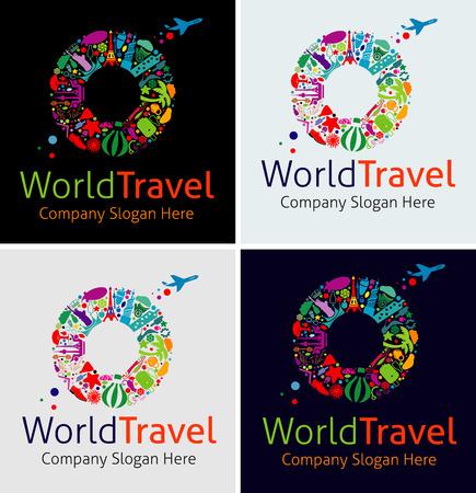 Logo Global Travel Logos