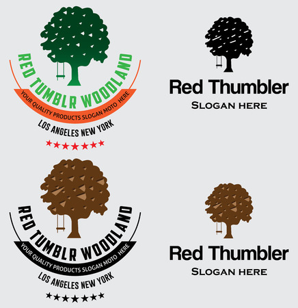 Tree Logo and Badges
