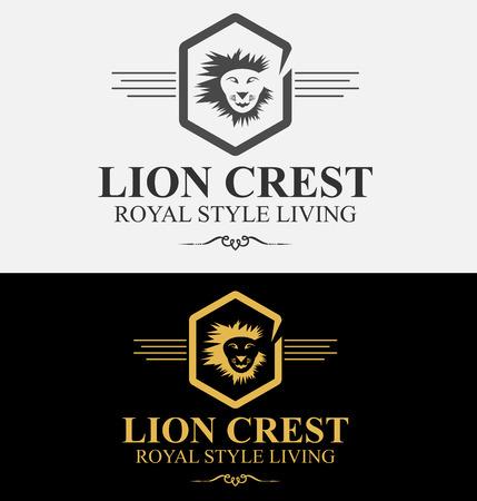 royal: Royal Lion Crest Logo