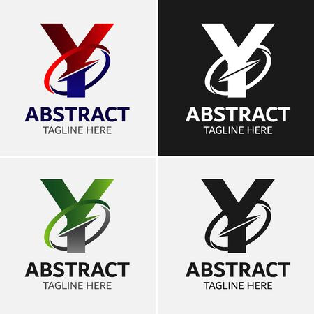 Letter Y logo icon design template elementen