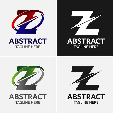 Letter Z logo icon design template elementen