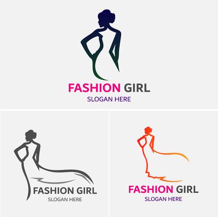Fashion Girls Logo Template