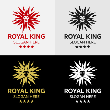 Royal Lion Crest Logo