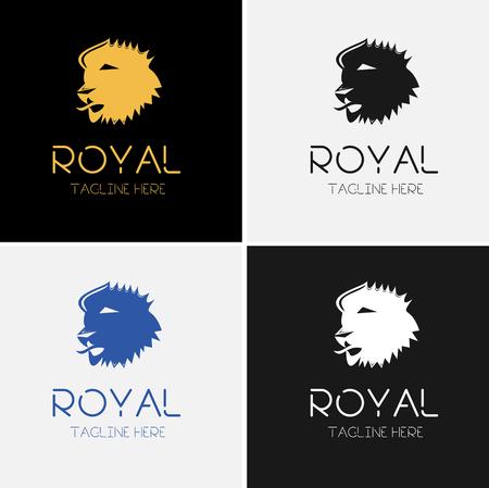 Hoofd van de leeuw Logo