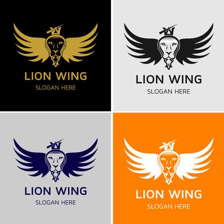 Leeuw Wing Logo Template