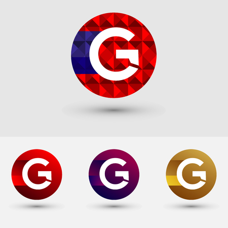 G Letter Vector Logo Icon Design Symbol