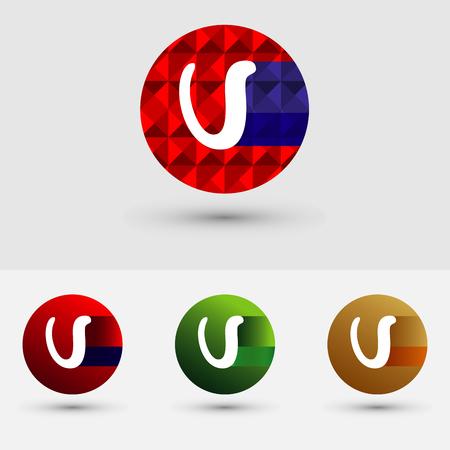V Brief Vector Logo Icon Ontwerp Symbool