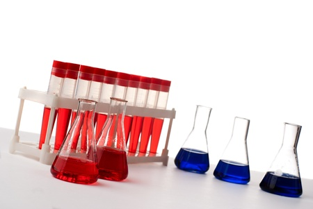 Set of laboratory eqipment. Stock Photo - 8803432