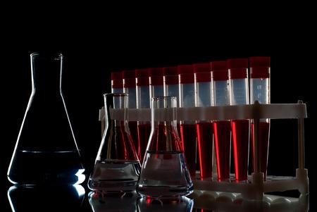 Set of laboratory equipment. Stock Photo - 8803441