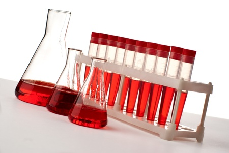 Set of laboratory eqipment. Stock Photo - 8803449