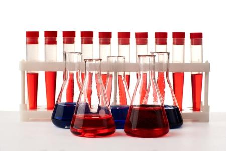 Set of laboratory eqipment. Stock Photo - 8803448