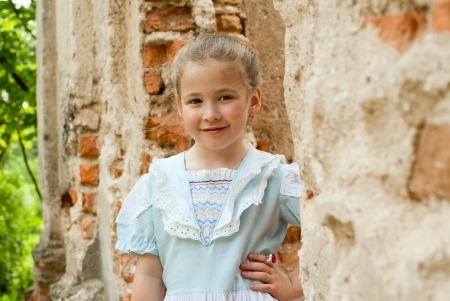 Little girl in summer park. Stock Photo - 18708793