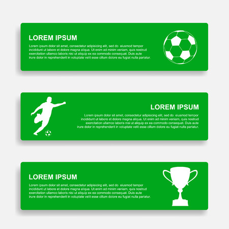 soccer infographic template Illustration