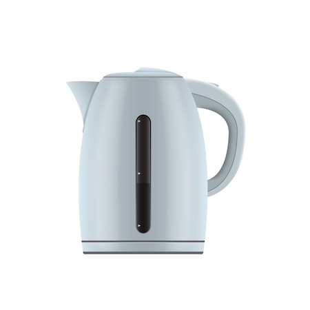electric kettle: picture of electric kettle on white background