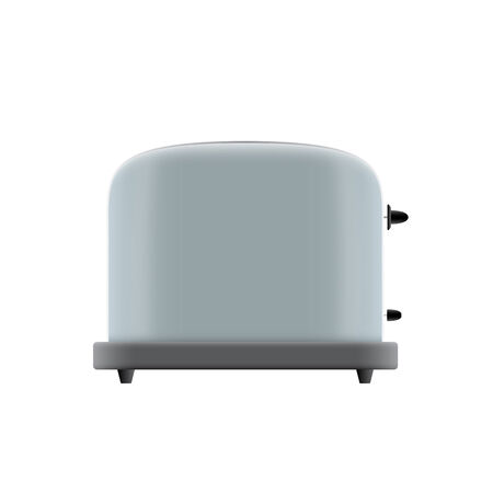 toasted: picture of toaster on white background