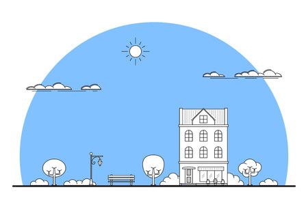 city landscape banner