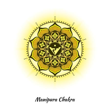 Manipura chakra design