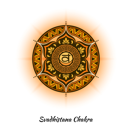 Svadhistana chakra design
