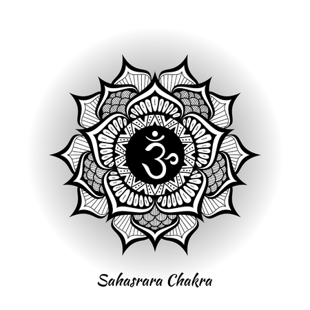 Sahasrara chakra design
