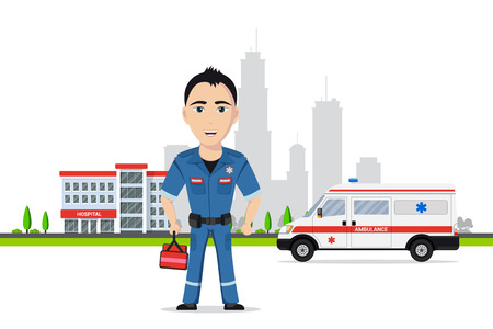 Picture of a paramedic