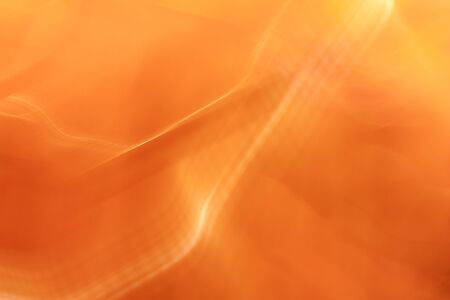 Abstract blurred motion orange background