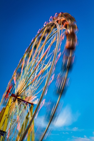 blurr: Blurry ferris wheel in motion