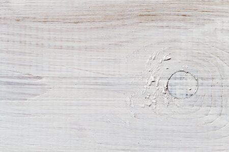 impregnated: Old Plank impregnated with white paint Stock Photo