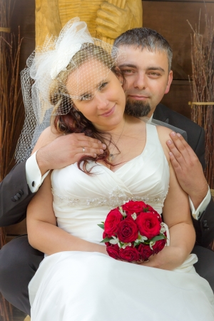 Young couple Just married Stock Photo - 14119206
