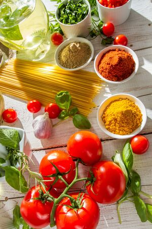 Close-up of vegetables in Italian cuisine Stock Photo - 14119505