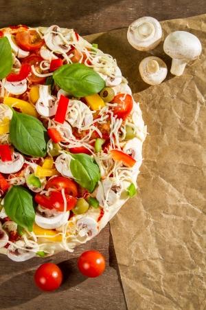 Close-up of the menu background for pizzerias No. 3 Stock Photo - 14719302