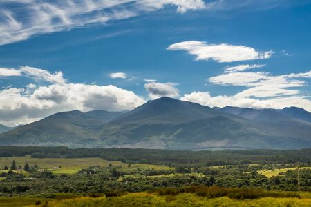 Beautiful views of the Scottish highlands photo