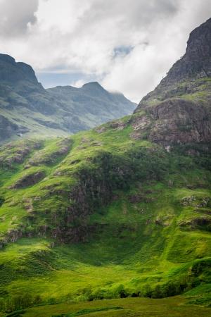 Scotland highland in summer
