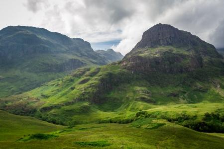 highland region: Summer in in the Scotland highlands