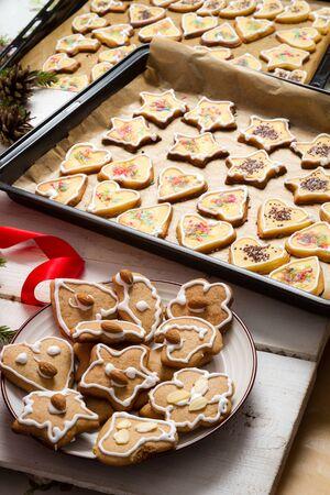 Homemade Christmas cakes for the holidays Stock Photo - 15963653
