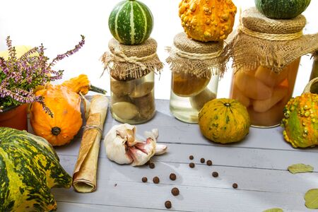 prescribe: Autumn vegetables with the recipe on the shelf