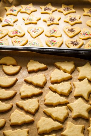Decorated homemade Christmas cookies Stock Photo - 16272374
