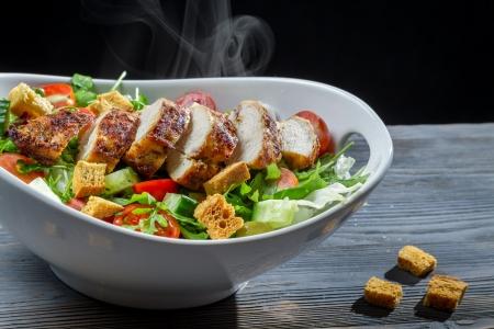 Caesar salad made of fresh ingredients Stock Photo - 16726505