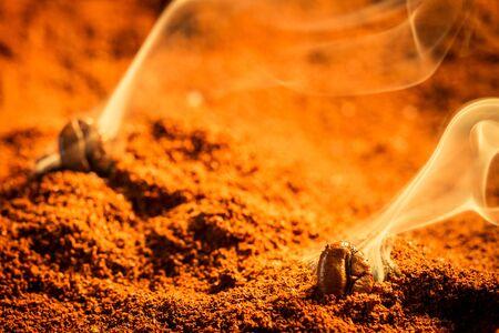 attar: Roasted coffee smell good Stock Photo