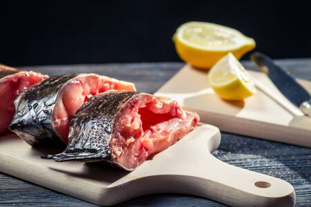 Preparing fresh fish to fry Stock Photo - 17088801