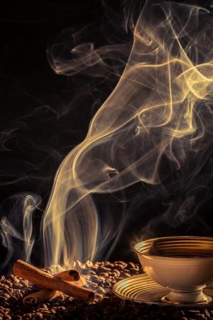 attar: Strange smoke rising over the roasted coffee