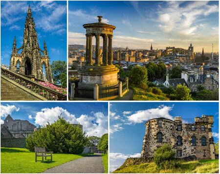 Postcard from sunny Edinburgh in summer