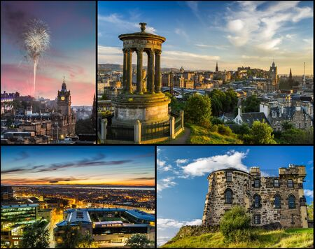 Postcard from Edinburgh in summer
