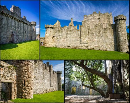 Medieval castle of stone in Scotland Stock Photo - 17228812