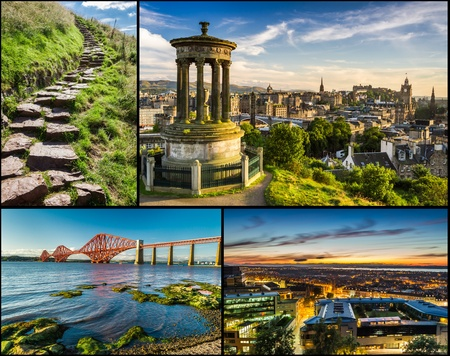 places of interest: Postcard from sunny Scotland in summer