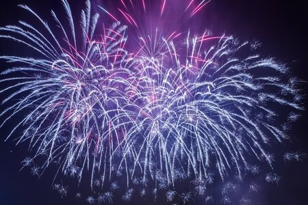 panoply: Spectacular fireworks during the celebrations