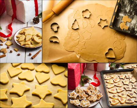 Gingerbread cookies for Christmas photo