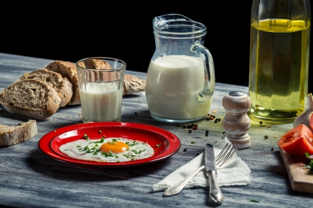 Breakfast made  with fresh ingredients Stock Photo - 18268728