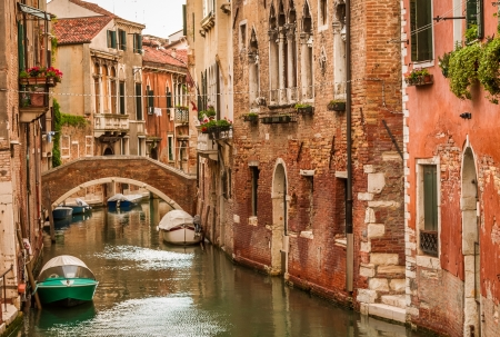 Historic houses of the Grand Canal in Venice photo