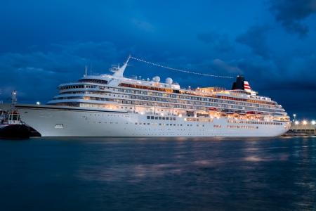 Crucero en Venecia en la noche